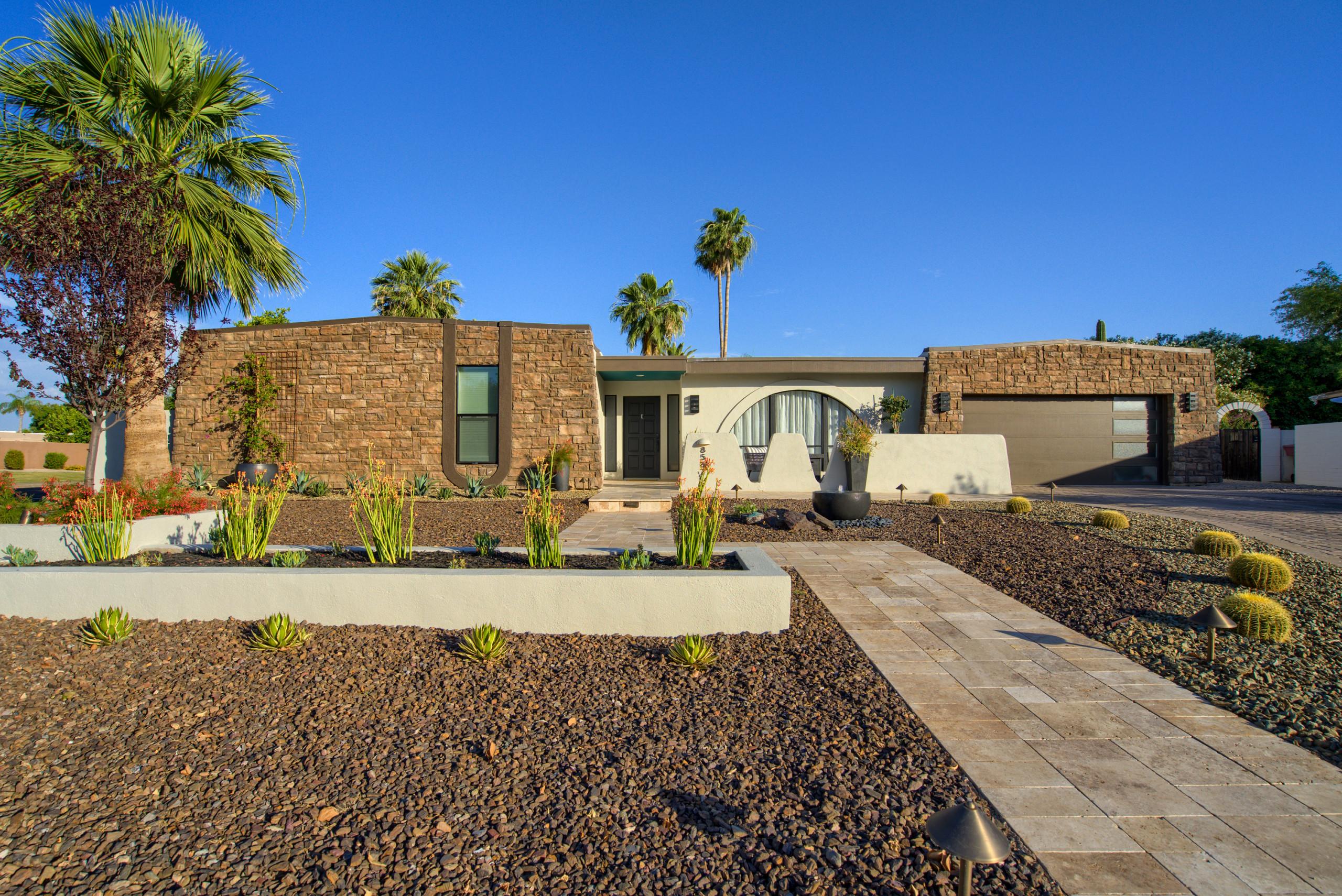 Gainey Ranch Mid Century Modern Exterior