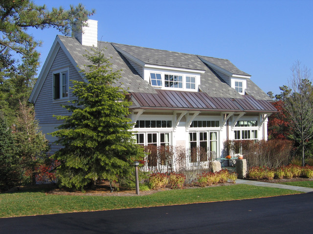 Galler of Homes Sales Center traditional-exterior