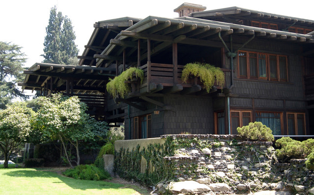 craftsman exterior Gamble House