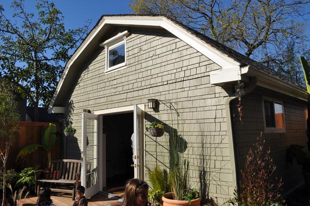 Garage conversion traditional exterior san francisco - Garage conversion exterior ideas ...