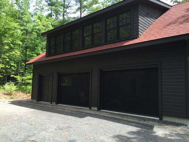 Garage door bug insect screens rustic exterior for Concord garage door