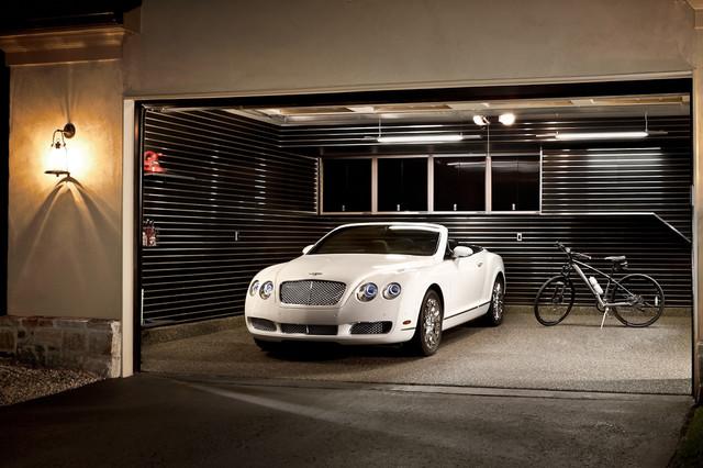 Garage modern-exterior