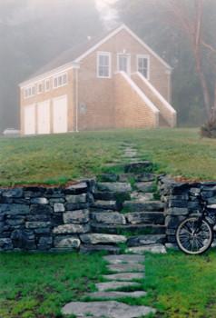 Garage/Studio traditional-exterior