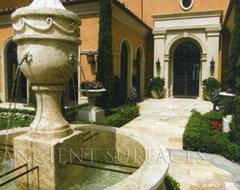 Garden fountains mediterranean-exterior