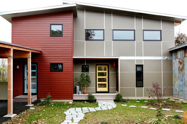Garden loft industrial exterior other metro by sullivan building design group - Attic homes exterior design ...