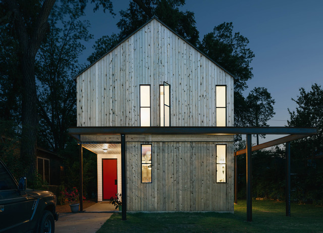 Garden St. Residence transitional-exterior