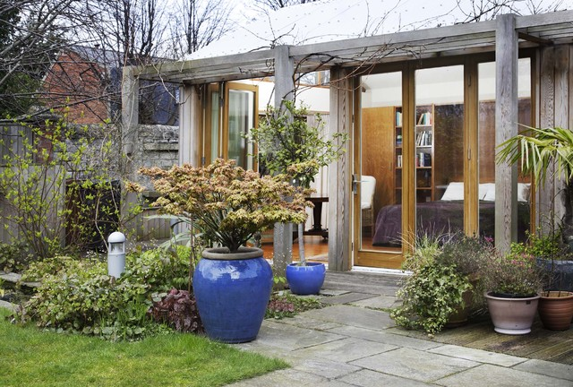 Garden Studio contemporary-exterior