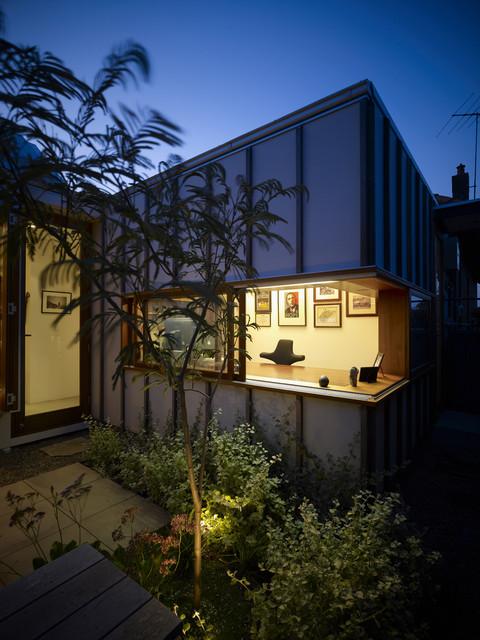 Garrett House contemporary-exterior