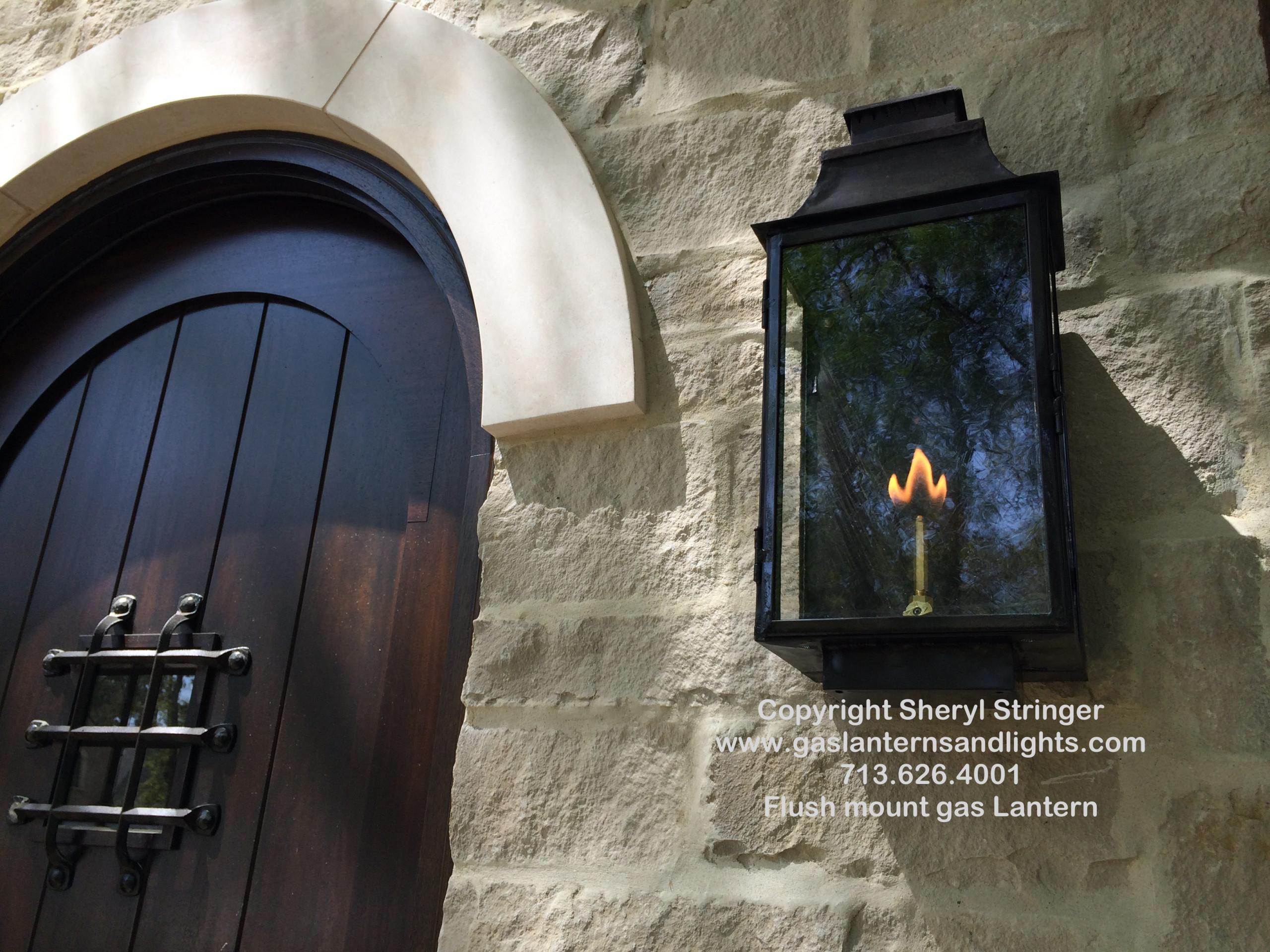 Gas Lights By Sheryl Stringer