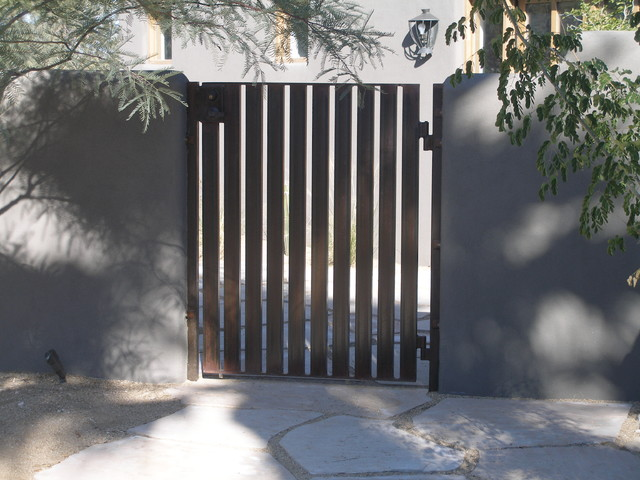 Gates contemporary exterior