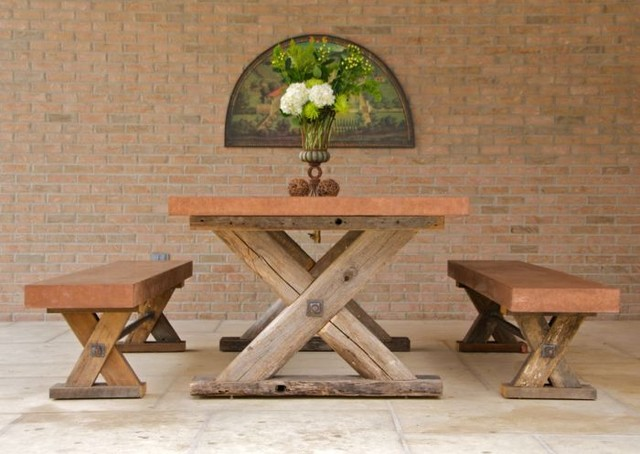 Geneve Tipton Table traditional exterior