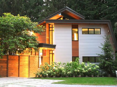 แปลนแบบบ้านชั้นครึ่ง 04 Geometric House