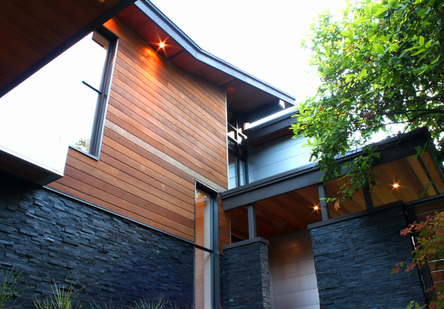 Geometric house north vancouver bc modern exterior for Exterior design vancouver wa