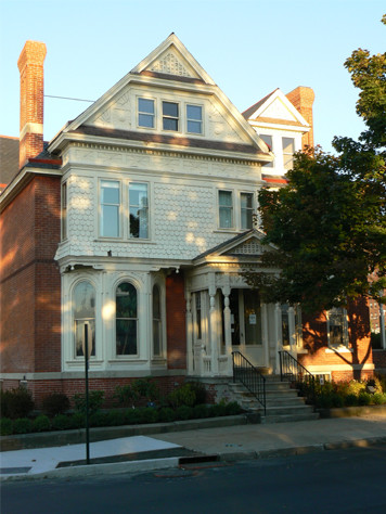 George Carroll House traditional-exterior