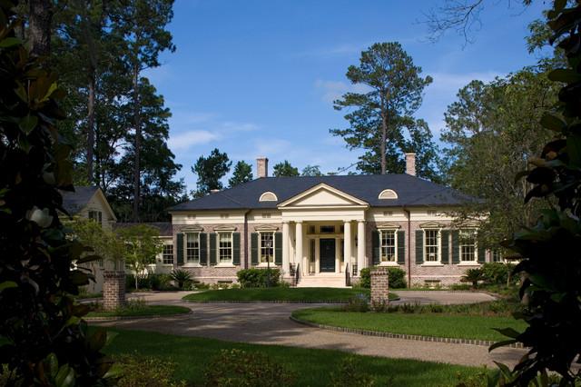 Georgia greek revival traditional exterior by for House plans georgia