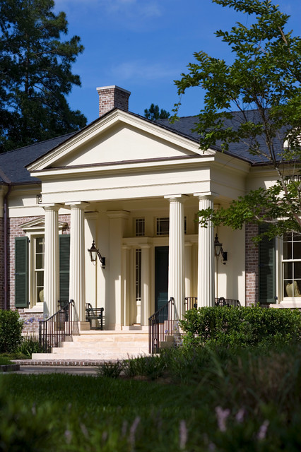 Georgia greek revival traditional exterior by for Historical concepts architects