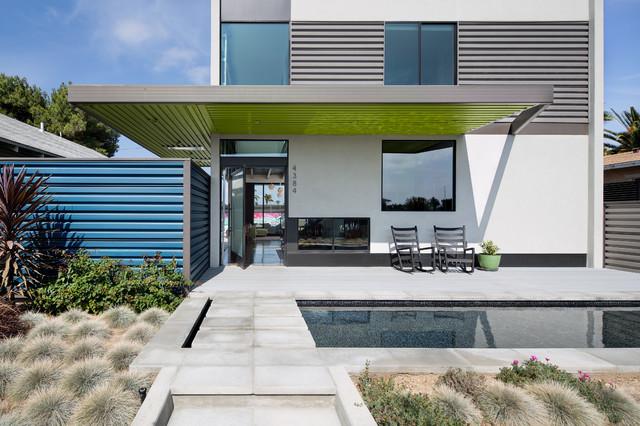 Georgia Street Residence contemporary-exterior