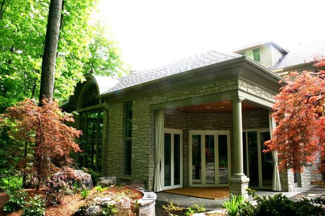 Georgian Homes contemporary-exterior