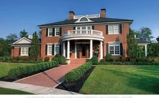 Georgian House Traditional Exterior Cincinnati By