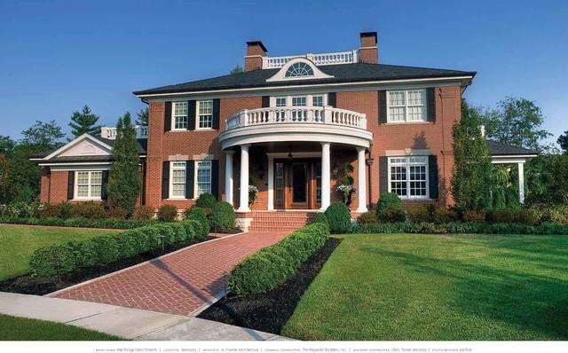 Cool Georgian House Traditional Exterior Cincinnati By Download Free Architecture Designs Scobabritishbridgeorg