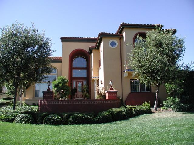 Gilroy Estate mediterranean-exterior