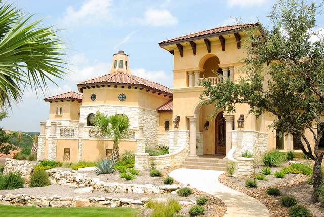 Glamorous mediterranean home in san antonio Mediterranean custom homes