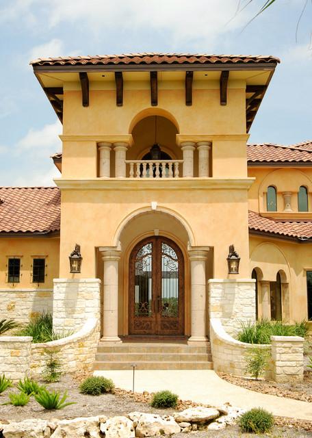 Glamorous Mediterranean Home In San Antonio