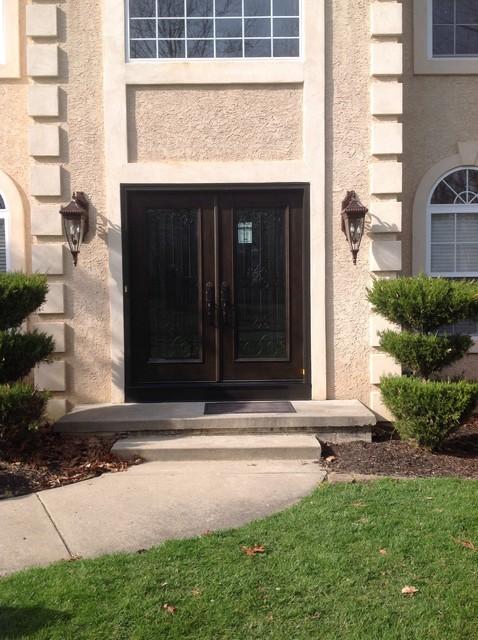 custom fiberglass entry doors sewell nj mediterranean exterior