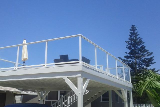 Glass Railings modern-exterior