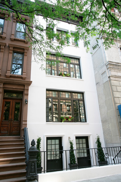 Gleicher's Eco-Friendly Townhouse traditional-exterior