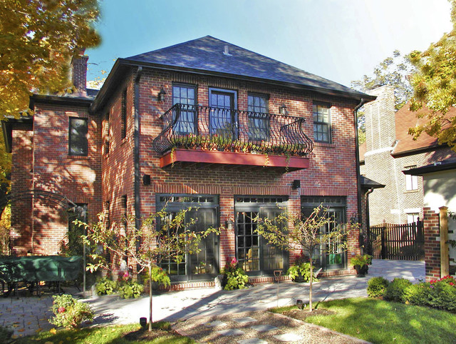 Glencoe Il Private Residence Addition Traditional Exterior Chicago By Joseph I