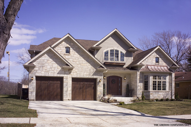 Glenview Custom Home traditional-exterior