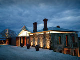 contemporary exterior Houzz Tour: Modern Retreat Emerges From a 19th Century Ruin (24 photos)