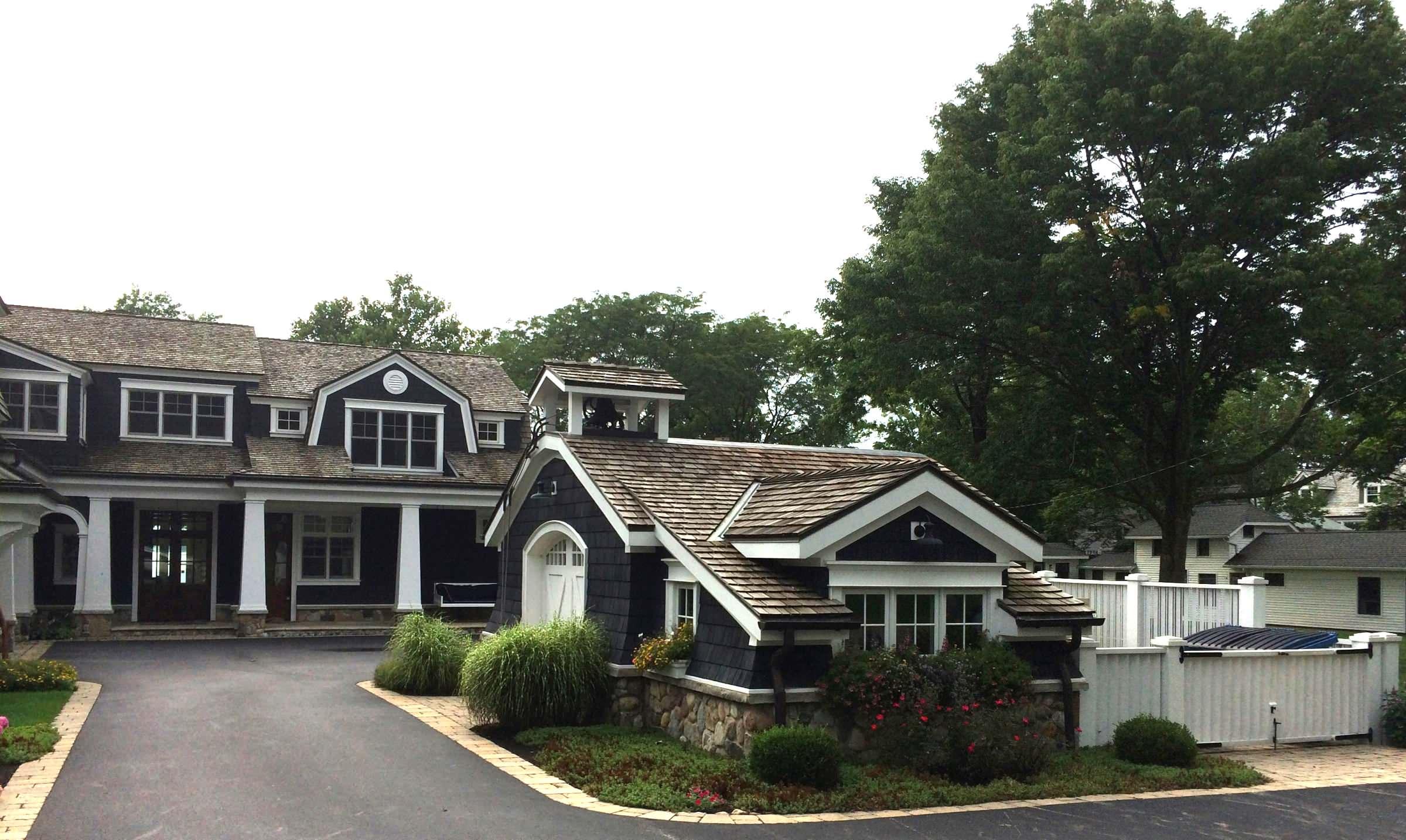 Golf Cart & Lake Storage