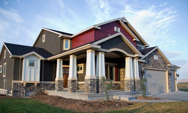 Gorgeous Grey Exterior traditional-exterior