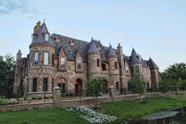 Gothic castle exterior for Castle homes