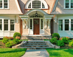 Graceful Gambrel traditional exterior