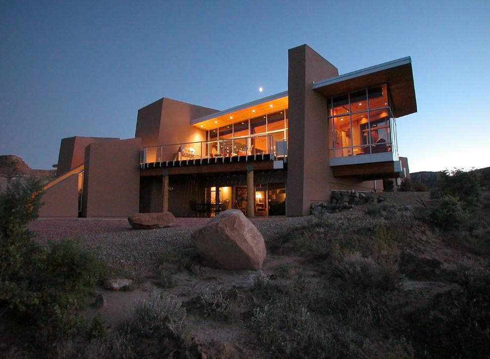 Trendy exterior home photo in Denver