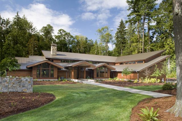 Grand Ridge Timberframe traditional-exterior