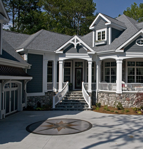 Exterior Paint Ideas Home Design: Is The Siding In The Top Dormers A Different Grey Paint