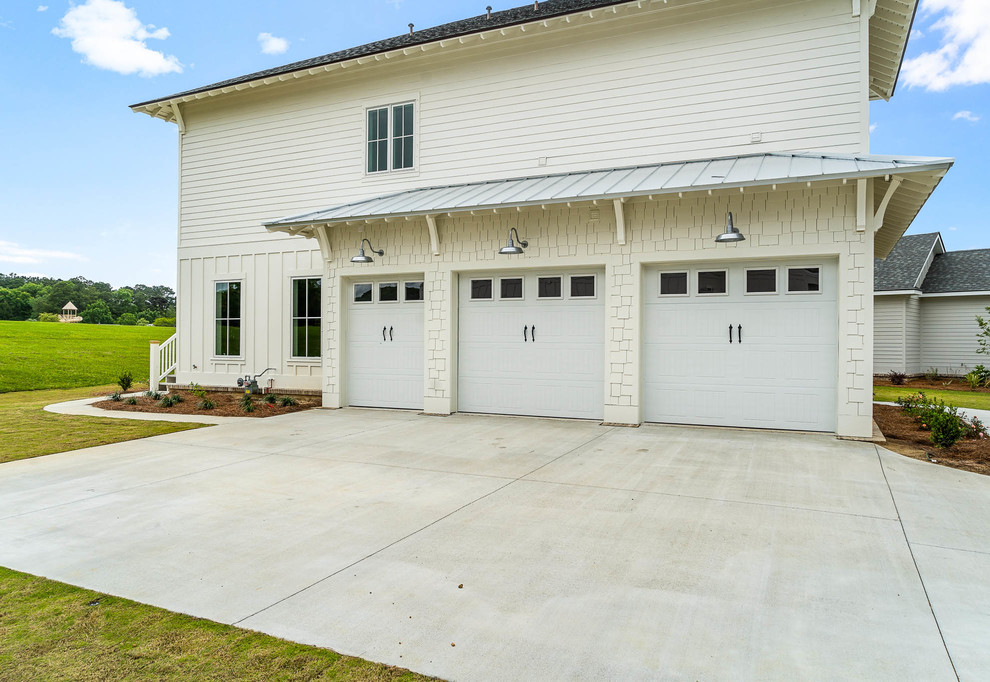Example of an exterior home design in Other