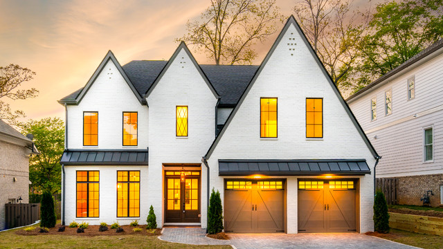 Example of a trendy exterior home design in Atlanta