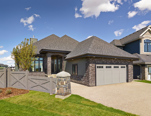 granville bungalow cash cars for cancer lottery home 2013 traditional exterior. Black Bedroom Furniture Sets. Home Design Ideas
