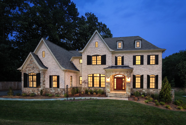 Great Falls Speculative Home Traditional Exterior Dc