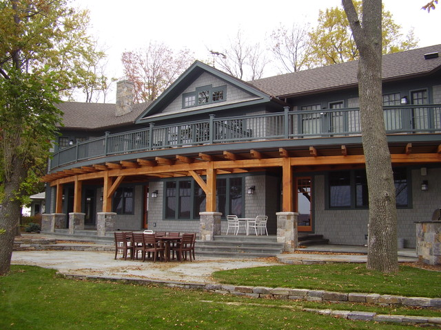 Great House on Canandaigua Lake traditional exterior