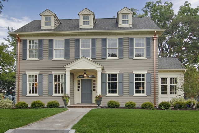 Great neighborhood homes traditional exterior for Conventional homes