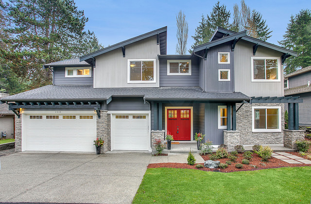 Greater seattle area san tropez b contemporary for Seattle area home builders