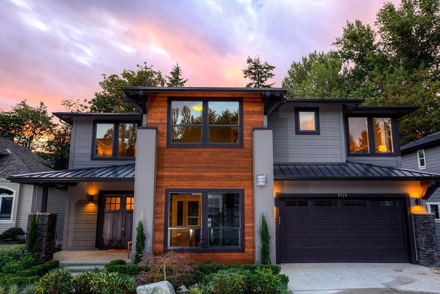 Greater seattle area the london b exterior for Seattle area home builders