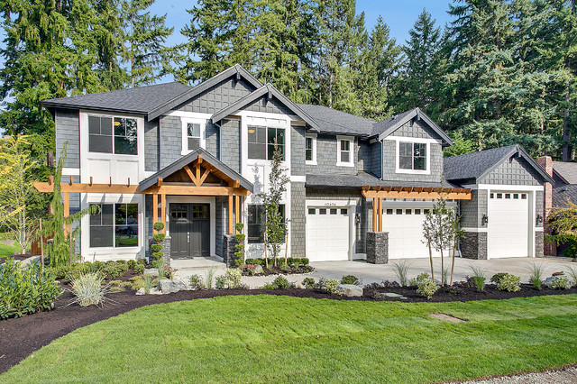 Greater seattle area the parthenon exterior seattle for New home builders in seattle area
