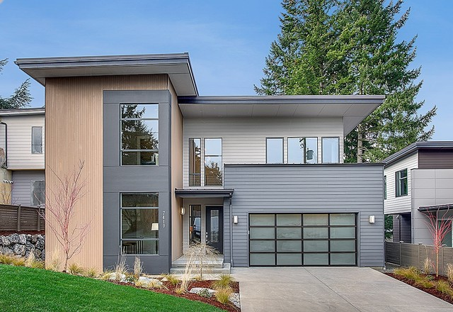 Greater seattle area the taipei modern exterior for Seattle area home builders
